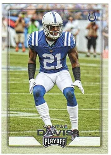 2016 Panini Playoff Football Vontae Davis #86