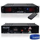 Skytec Bluetooth Stereo Disco DJ Amplifier MP3 House Party PA 19' Rack Amp 2000W