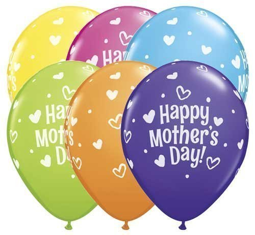 [USA-SALES] Mother's Day Balloons Qty. 20, Premium Quality, Assorted Colors, by Usa-Sales Seller