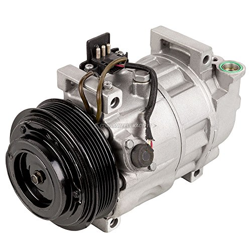 Remanufactured Genuine OEM AC Compressor & A/C Clutch For Mercedes W202 C Class - BuyAutoParts 60-01575RC Remanufactured