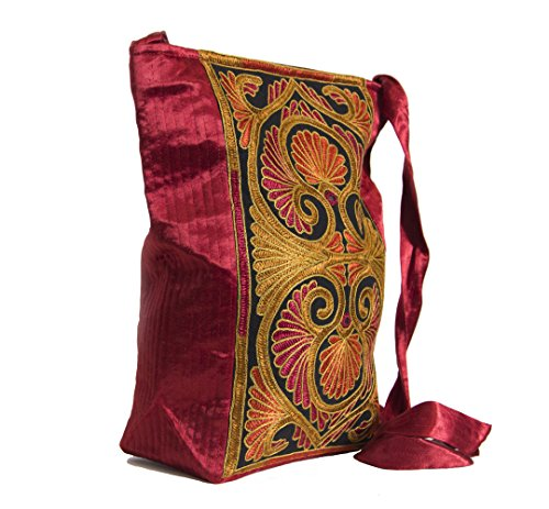 Crafts Galore by Fabucrafts , Damen Tote-Tasche rot rot
