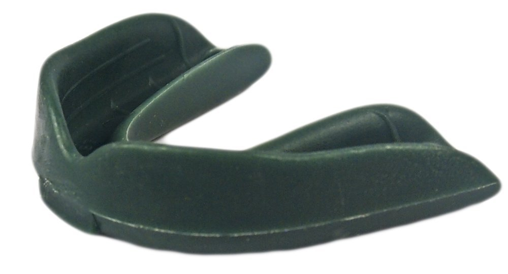 100 Pack! Safetgard Adult Form Fit Mouthguard without Strap - Available in 12 colors! (Forest Green) by Safe-T-Gard
