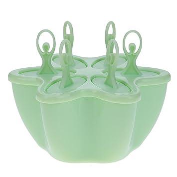 TTnight Moldes de molde para helado con forma de bailarina, molde de plástico para hornear, 6 rejillas: Amazon.es: Hogar