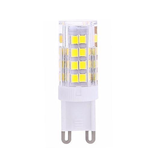 G9 Bombilla LED Bombilla 5 W, recambio para halógeno de 40 W Lámpara, Bombilla