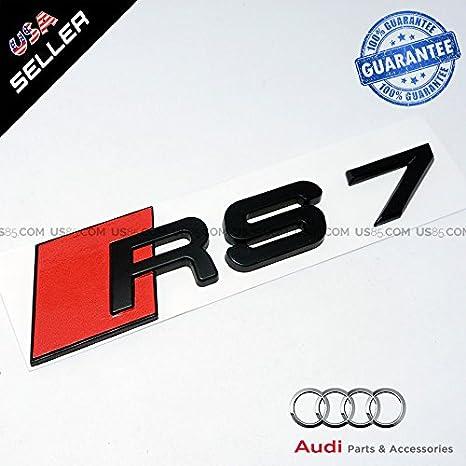 ABS Nameplate Audi S4 Matte Black Emblem 3D Trunk Logo Emblem Badge Decoration