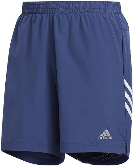 Adidas Pantalones Cortos Run It De 3 Rayas De 9 Pulgadas Para Hombre Run It Pantalones Cortos De 3 Rayas 22 8 Cm Indigo Tech Blanco Pequeno Amazon Com Mx Deportes Y Aire Libre
