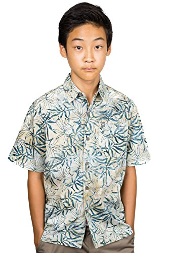 Artisan Outfitters Kids Oasis Tropical Hawaiian Batik Cotton