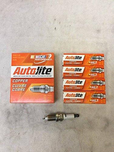 Autolite 4 x Bujía 56041402 AB 985 Cherokee 2.5L 1991 - 2000: Amazon.es: Coche y moto