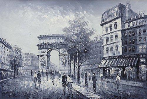 France Street Scene (Oil Painting 24