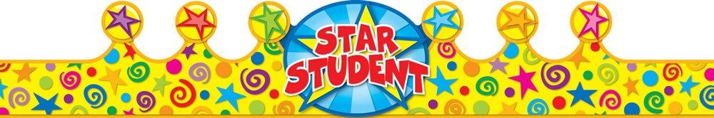 Carson Dellosa Star Student Crowns (101020) by Carson-Dellosa