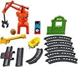 Thomas & Friends Trackmaster, Cassia Crane & Cargo Set, Motorized Toy Train Engines for Preschool Kids Ages 3 Years and Older