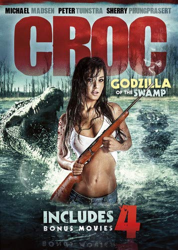 5-Movie Maneater Collection: Croc: Godzilla of the Swamp / Grizzly Rage / Maneater / Dire Wolf / Chupacabra vs The ()