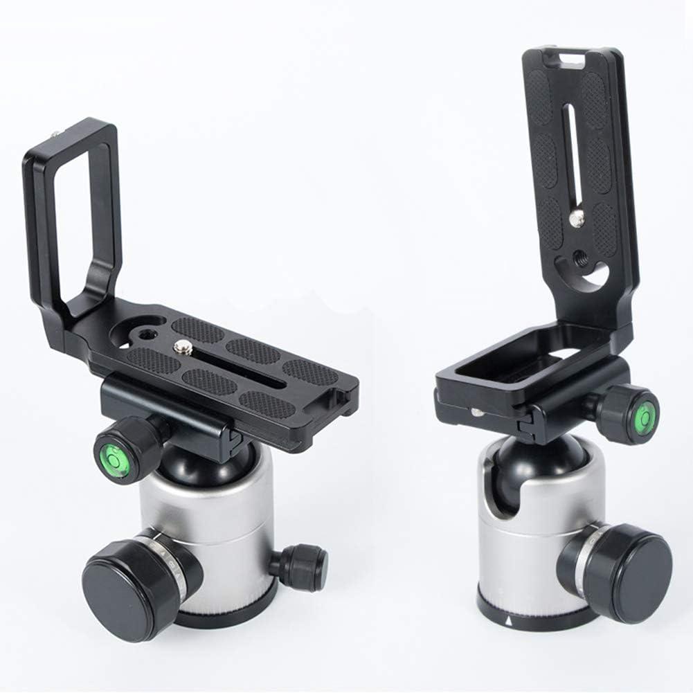 AMdinghaonuo L Bracket Universal Durable Aluminum Alloy Quick Release Plate for DSLR Camera Tripod