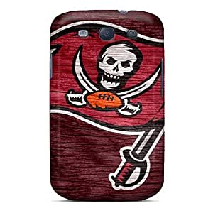 Galaxy S3 Hard Back With Bumper Silicone Gel Tpu Case Cover Tampa Bay Buccaneers