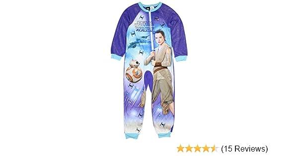 Star Wars Force Awakens Girls One Piece Pajamas Sleeper Set