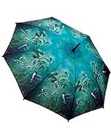 Galleria Hautman Brothers Hummingbirds Auto Super-Mini Umbrella (Hummingbirds)