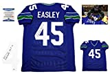 Kenny Easley Signed Custom Jersey - Beckett - Autographed w/ Photo - HOF 17