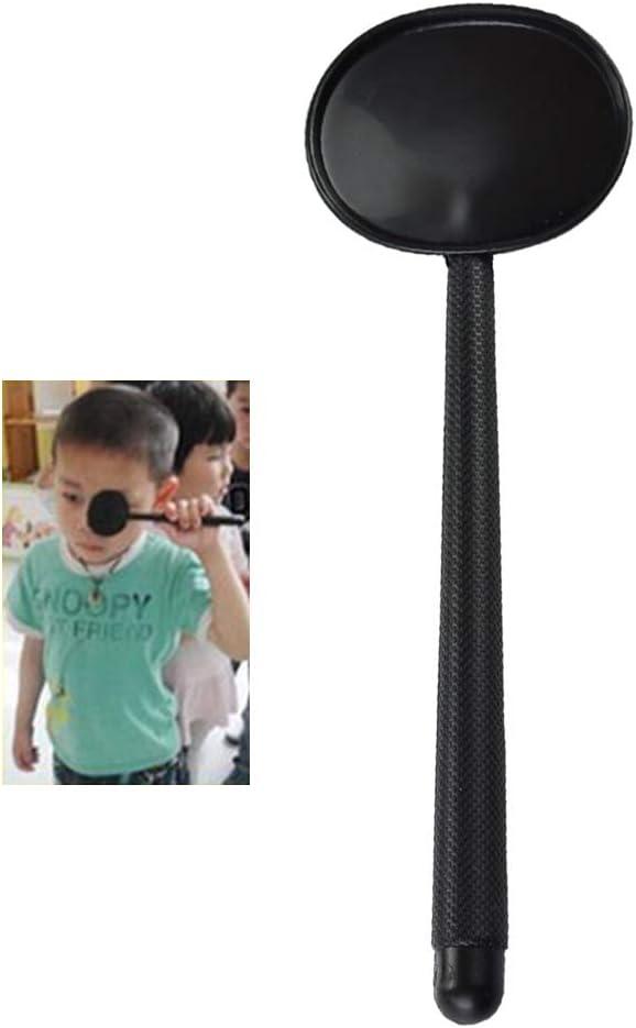 Supvox Handheld Eye Occluder Professionelle Black Eye Occluder Abdeckung f/ür Vision Test 3pcs