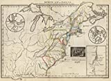 School Atlas | Seventh Map or Map Of 1776 | Historic Antique Vintage Reprint
