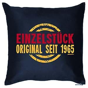 Divertido Regalo de 50cumpleaños–einzelstück–Original desde 1965–Cojín decorativo para sofá y cama.