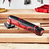 Milwaukee 2426-20 M12 12 Volt Redlithium Ion 20,000 OPM Variable Speed Cordless Multi Tool with Multi-Use Blade, Sanding Pad, and Multi-Grit Sanding Papers