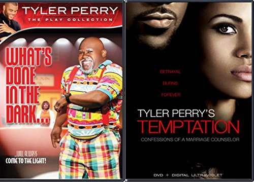 Tyler Perry's Temptation & What's Done in the Dark... 2-DVD Bundle