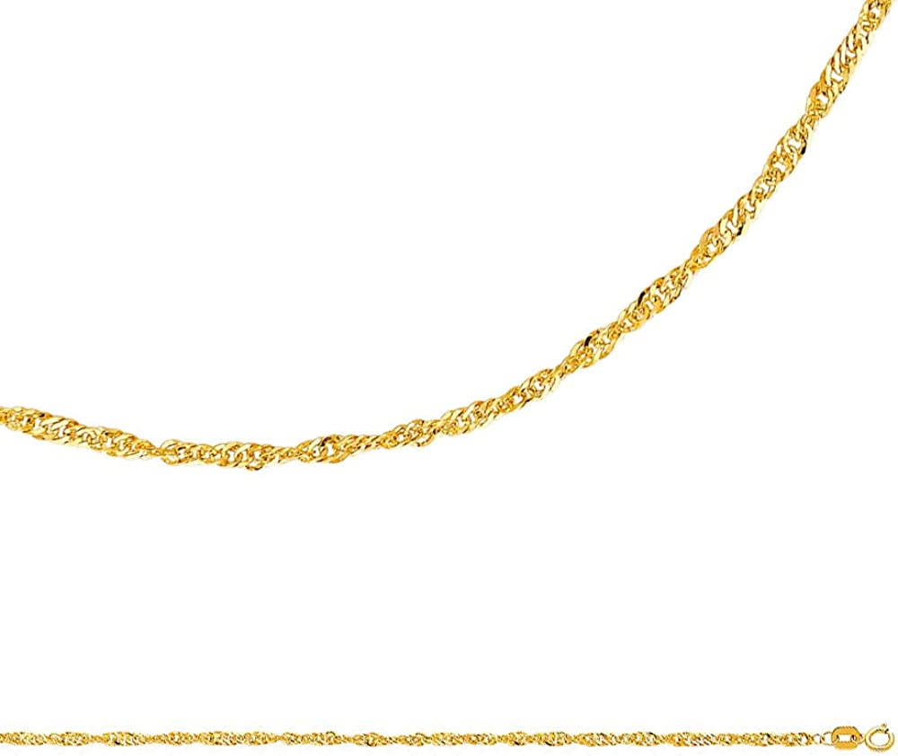 """GOLD over SILVER QUALITY MADE in ITALY 3mm HERRINGBONE CHAIN 22/""""   NECKLACE H3G"""