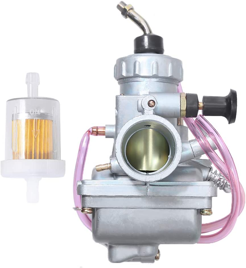 Carburetor For Suzuki LT250E LT250EF Quadrunner 250 1985 1986 1987 Replacement ATV Carb w/Fuel Filter