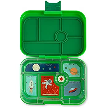 YUMBOX (Terra Green) Leakproof Bento Lunch Box Container for Kids