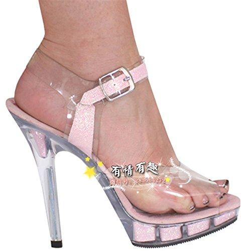 Crystal schuhe 12 12 schuhe cm high heels schuhe modell pink bba060
