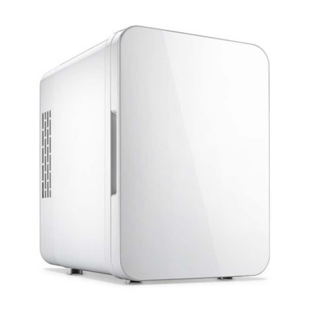 GJM Shop Car Refrigerator 4L Car 12V/ Home 220V Dual-Purpose Portable Picnic Refrigerator Energy Saving Refrigeration/Heating Dormitory Refrigerator 241825cm -Blue/Pink / White/Sliver-Gray