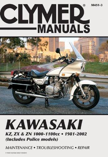 Kawasaki KZ, ZX & ZN 1000-1100cc 81-02 (CLYMER MOTORCYCLE REPAIR)