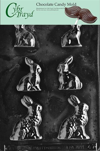 Cybrtrayd Life of the Party E047 Bunnies Easter Chocolate Ca