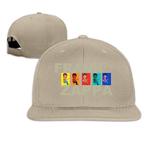 Runy Custom Frank Zappa Adjustable Baseball Hat & Cap Natural