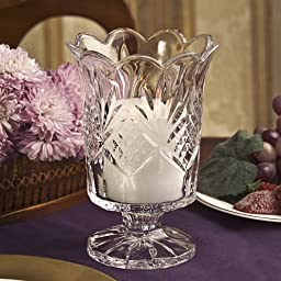 Dublin Collection Crystal Hurricane Votive Candle Holder