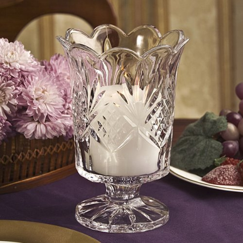 Crystal Hurricane (Dublin Collection Crystal Hurricane Votive Candle Holder)