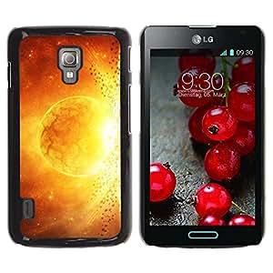 Be Good Phone Accessory // Dura Cáscara cubierta Protectora Caso Carcasa Funda de Protección para LG Optimus L7 II P710 / L7X P714 // Space Planet Galaxy Stars 48