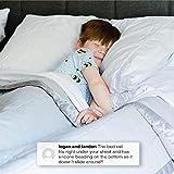[2-Pack] Delta Children Extra Long Foam Toddler Bed