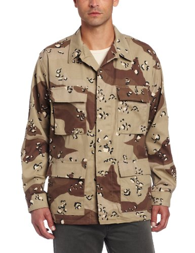 Propper Men's BDU Coat, 6 Color Desert, X-Large Regular by Propper