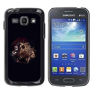 LECELL -- Funda protectora / Cubierta / Piel For Samsung Galaxy Ace 3 GT-S7270 GT-S7275 GT-S7272 -- Bear Attack --