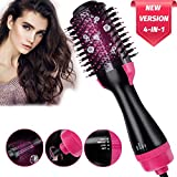 Hot Air Brush 4 IN 1 Hair Dryer Brush,YIMIKE One Step Hair Dryer