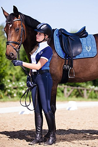 Scuro Pantaloni Covalliero Kerbl Blu Techno Donna Da Equitazione vxxwR0q