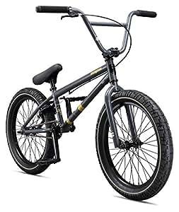 "Mongoose Boys Legion L60 Bicycle, Black, One Size/20"""