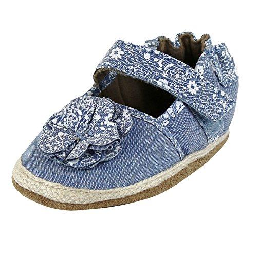 Robeez Baby Girls Espadrille Sandals 0-6 Months Crib Shoes (Infant baby (Jourdan Leather Sandals)