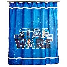 Star Wars Classic Saga Shower Curtain