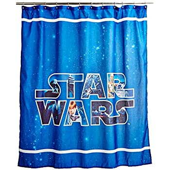 "Star Wars Saga 70"" X 72"" Fabric Shower Curtain"