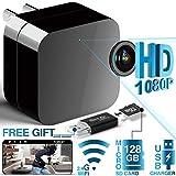 Spy Camera - Hidden Camera - Mini Spy Camera 1080P - USB Charger Camera - Hidden Spy Camera Charger - Hidden Nanny Cam - Hidden Spy Cam - Hidden Cam - Surveillance Camera Full HD - Wi-Fi Stealth Cam