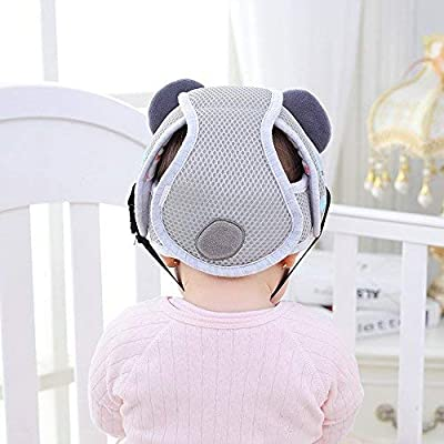 Baby Adjustable Safety Helmet Infant Head Protector Breathable Headguard for Toddlers Learn to Walk