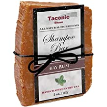 Taconic Shave Bay Rum Shampoo Bar - All Natural / Handcrafted - 5.0 oz.