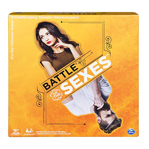 Battle of The Sexes Board Game, Hilarious and Eye-Opening Adult Party Game for Players Aged 16 and Up (Renewed) (Sexes Of Battle Game The Board)